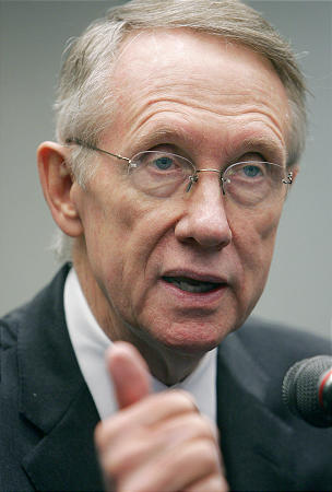 dnews Senate Majority Leader Harry Reid BYU speaker
